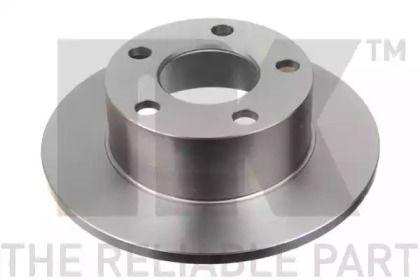 Тормозной диск на Шкода Суперб 'NK 204744'.