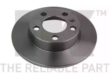 Тормозной диск на SEAT LEON 'NK 204761'.