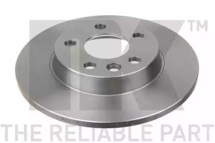 Тормозной диск на Сеат Альхамбра 'NK 204767'.