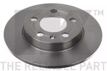 Тормозной диск на AUDI TT 'NK 204779'.