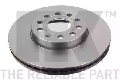Вентилируемый тормозной диск на IVECO DAILY 'NK 204788'.