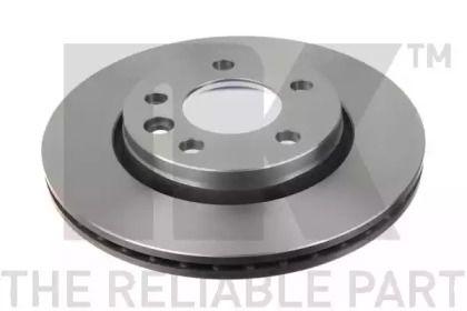 Вентилируемый тормозной диск на Фольксваген Мультивен 'NK 204797'.