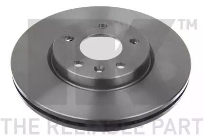 Вентилируемый тормозной диск на CHEVROLET VOLT 'NK 205015'.