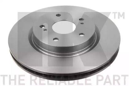 Вентилируемый тормозной диск на SUZUKI GRAND VITARA 'NK 205216'.
