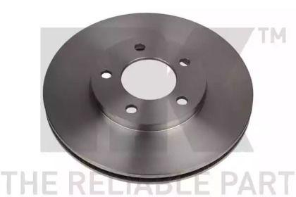 Вентилируемый тормозной диск на DODGE CARAVAN 'NK 209302'.