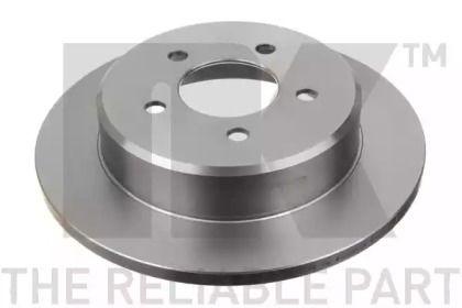 Тормозной диск на DODGE CARAVAN 'NK 209311'.