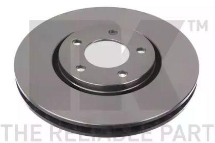 Вентилируемый тормозной диск на Крайслер Вижн 'NK 209312'.