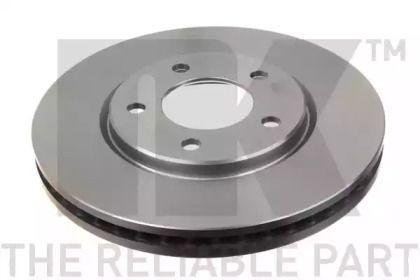 Вентилируемый тормозной диск на Додж Караван 'NK 209313'.