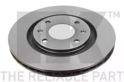 Вентилируемый тормозной диск на CITROEN XANTIA 'NK 209915'.