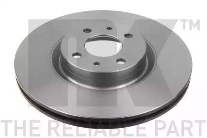 Вентилируемый тормозной диск на FIAT QUBO 'NK 209923'.