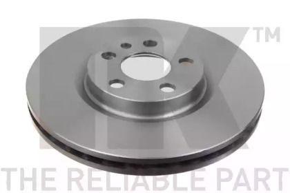 Вентилируемый тормозной диск на DEFENDER 'NK 209942'.