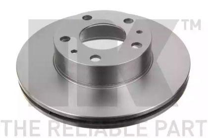 Вентилируемый тормозной диск на Ситроен Джампер 'NK 209945'.