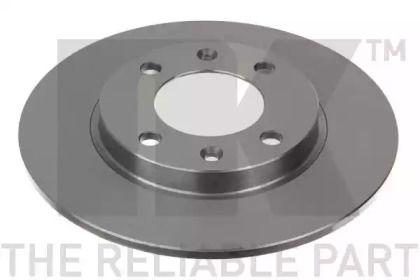 Тормозной диск на Пежо 206 'NK 209947'.