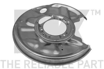 Захисний кожух гальмівного диска на Mercedes-Benz E-Class  NK 233312.