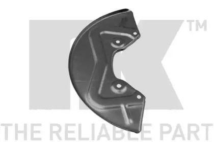 Защитный кожух тормозного диска на VOLKSWAGEN PASSAT 'NK 234709'.