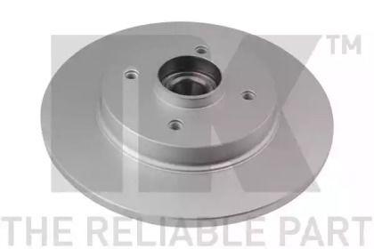 Тормозной диск на Ниссан Санни 'NK 311951'.