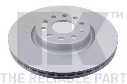 Вентилируемый тормозной диск на Фольксваген Артеон 'NK 3147115'.