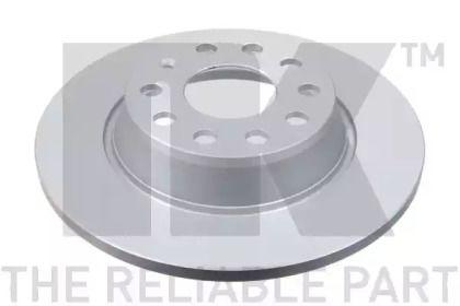 Тормозной диск на Фольксваген Тигуан 'NK 3147133'.