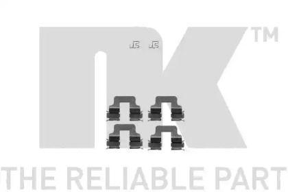 Скоби гальмівних колодок на Mini Countryman  NK 7910245.