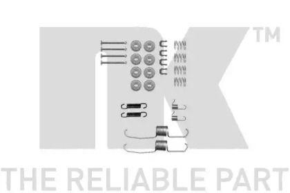 Ремкомплект задних барабанных тормозов NK 7945637.