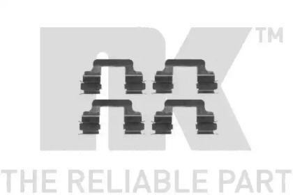 Скобы тормозных колодок на ALFA ROMEO 159 'NK 7947610'.