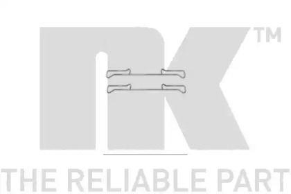 Скобы тормозных колодок на SEAT LEON NK 7947678.