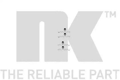 Скобы тормозных колодок на Сеат Толедо 'NK 7999048'.
