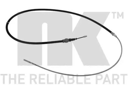 Трос ручника на Фольксваген Пассат 'NK 904773'.
