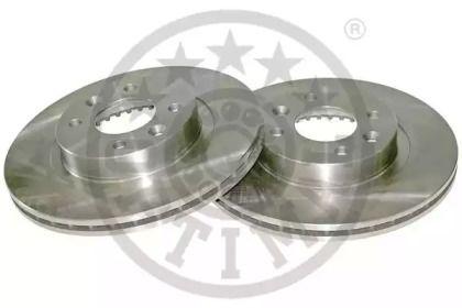 Вентилируемый передний тормозной диск 'OPTIMAL BS-2040'.
