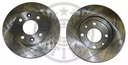 Вентилируемый передний тормозной диск на Дача Соленза 'OPTIMAL BS-7844'.
