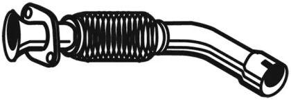 Приймальна труба глушника WALKER 09986.