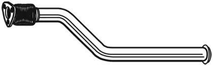 Приймальна труба глушника WALKER 10647 малюнок 0