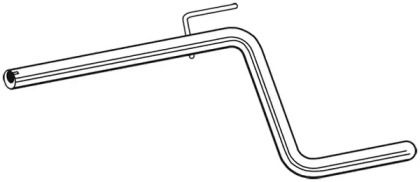 Приймальна труба глушника WALKER 10686 малюнок 0