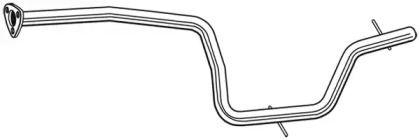 Приймальна труба глушника WALKER 10710 малюнок 1