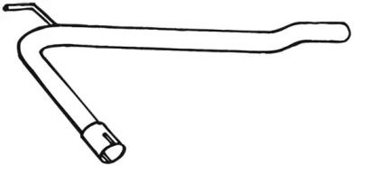 Приемная труба глушителя 'WALKER 18264'.