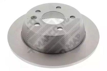 Задний тормозной диск на Мерседес Вито 'MAPCO 15789'.