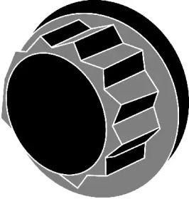 Болт ГБЦ (комплект) на Мазда МПВ 'CORTECO 016779B'.