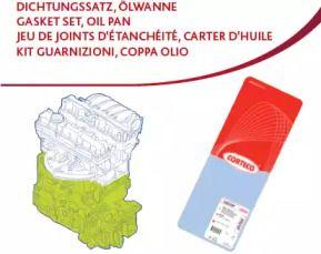 Комплект прокладок блоку циліндрів на Мітсубісі Карізма 'CORTECO 428401P'.