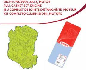 Комплект прокладок двигуна 'CORTECO 430659P'.