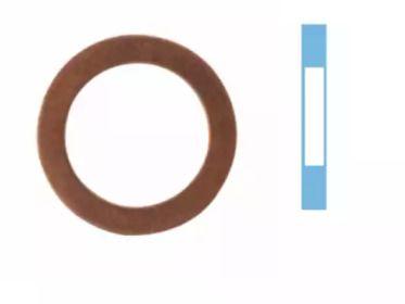 Уплотнительное кольцо, резьбовая пробка маслосливн. отверст. на SUZUKI SX4 'CORTECO 005569S'.