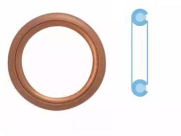 Уплотнительное кольцо, резьбовая пробка маслосливн. отверст. 'CORTECO 402129H'.