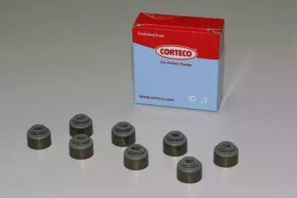 Комплект маслозйомних ковпачків 'CORTECO 19036743'.