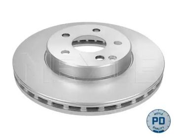 Вентильований передній гальмівний диск на Mercedes-Benz W211 MEYLE 015 521 2051/PD.