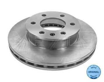Вентилируемый передний тормозной диск на Фольксваген Крафтер 'MEYLE 015 521 2101'.