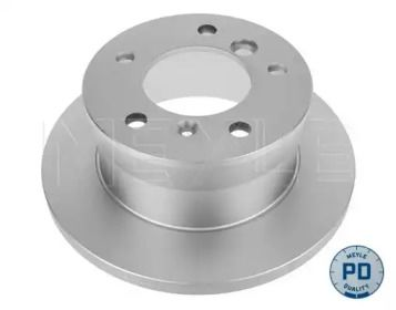 Задний тормозной диск на Мерседес Г класс 'MEYLE 015 523 0026/PD'.