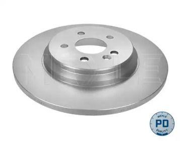 Задний тормозной диск на MERCEDES-BENZ M-CLASS 'MEYLE 015 523 0039/PD'.