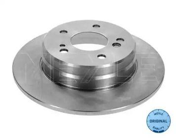 Задний тормозной диск на Мерседес С класс 'MEYLE 015 523 0021'.
