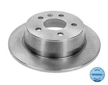Задний тормозной диск на MERCEDES-BENZ V-CLASS 'MEYLE 015 523 2014'.