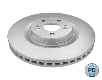 Вентилируемый передний тормозной диск на MERCEDES-BENZ GL-CLASS 'MEYLE 083 521 2096/PD'.