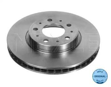 Вентилируемый передний тормозной диск на VOLVO S90 'MEYLE 515 521 5012'.
